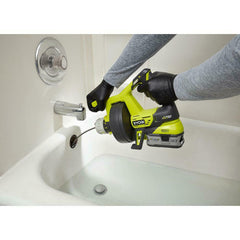 RYOBI Cordless Drain Auger 18-Volt ONE+ Cordless Plumbing Cleaner (Tool Only)