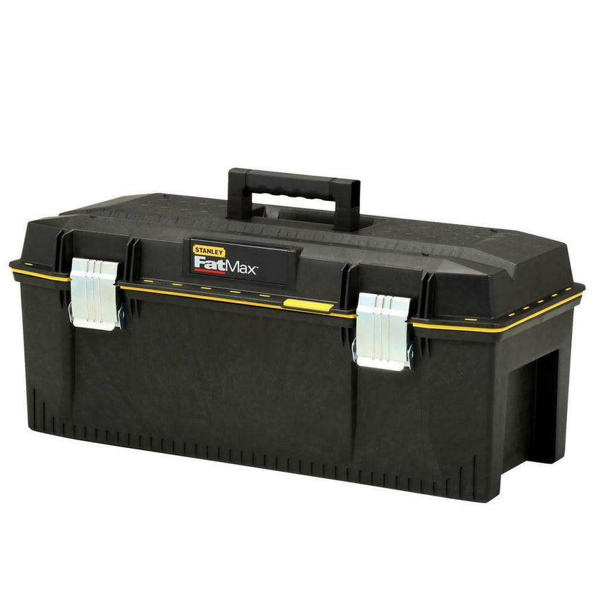 Stanley 28in Durable Tool Box Tray Compartment Storage Organizer Water Resistant