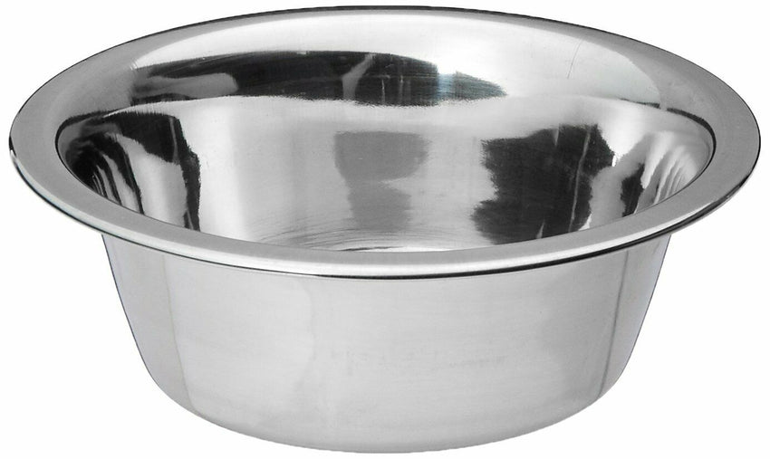 Standard Stainless Steel Dog Cat Bowl Indoor Outdoor Food Water Durable 3 Cup