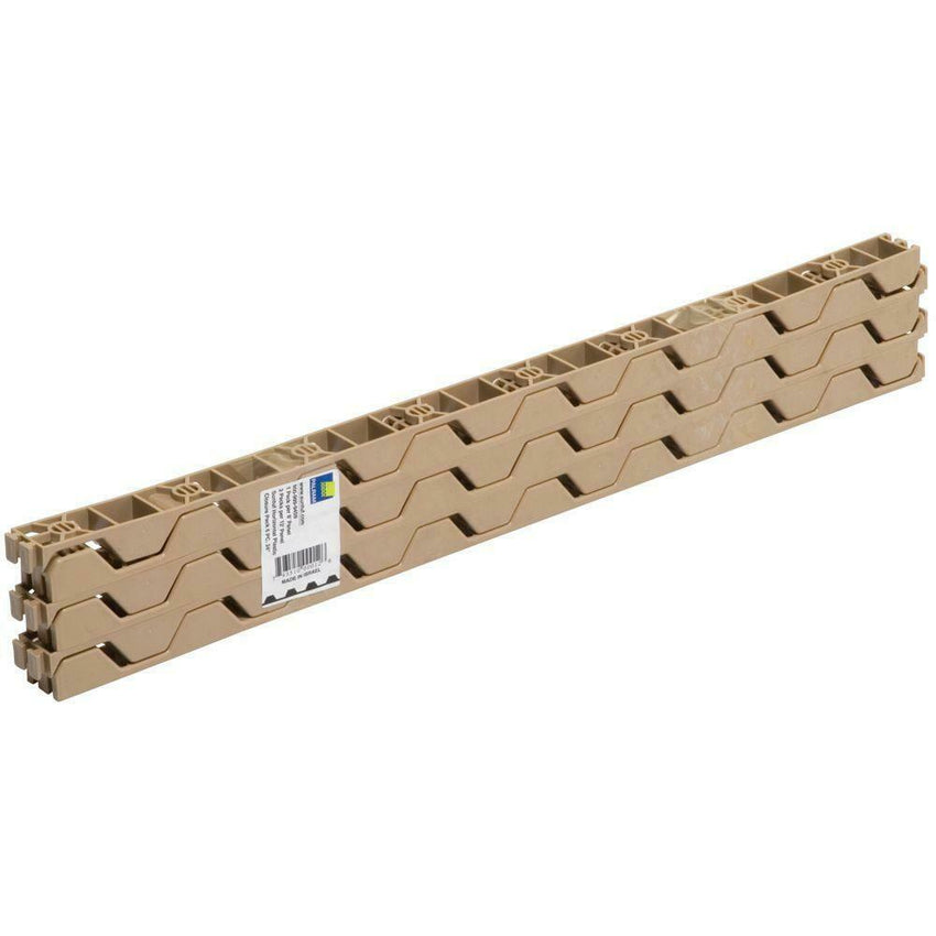 24 in. Closure Durable Strips for Horizontal Corrugated Roofing Panels (6-PACK)