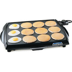 Presto Big Griddle Cool Touch Griddle Kitchen Breakfast Pancake Bacon Meat New