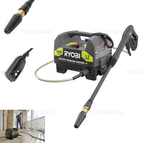 Electric Pressure Washer Portable 1600 Real PSI Car Washer Deck Boat Cleaner NEW