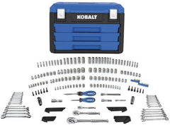 Mechanic Durable Hand Tool Case Set 227pc Sockets Ratchets Wrenches Hex Keys NEW