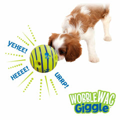 Allstar Innovations Wobble Wag Giggle Ball, Dog Toy, As Seen on TV Fun Play Toy