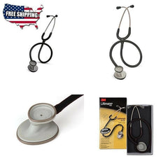 3M Littmann Cardiology Stethoscope Classic Acoustic Lightweight 28 Inch Black