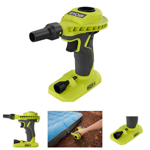 RYOBI Cordless Power Inflator High Volume 18-Volt Air Mattresses (TOOL ONLY) NEW