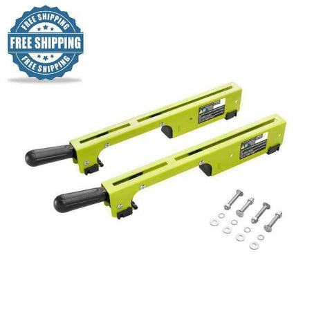 Ryobi Miter Saw Stand Mounting Brackets Single Action Locking Levers Power Tool