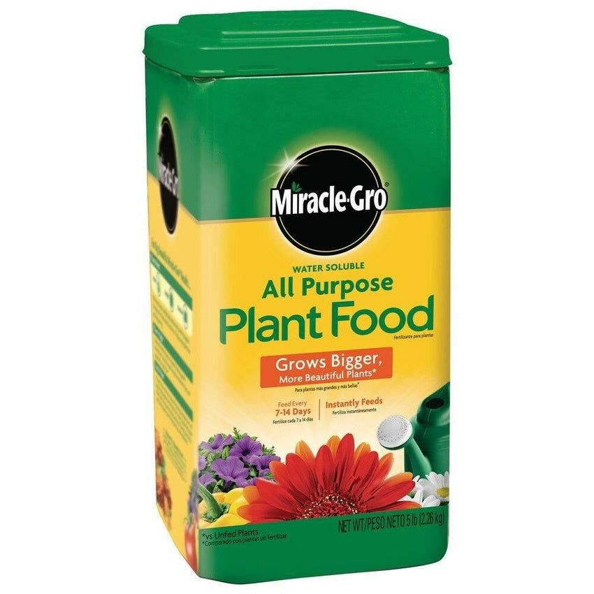 Miracle Grow Water-Soluble 5 lb. All Purpose Plant Food All Season Plant Food