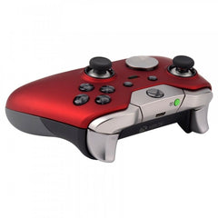 Red Soft Touch Shell Front Faceplate for Xbox One Elite Controller