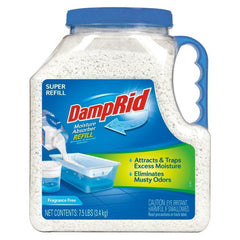 DampRid 7.5 Lbs. Super Moisture Absorber Refills Home Care for Odor Stains NEW