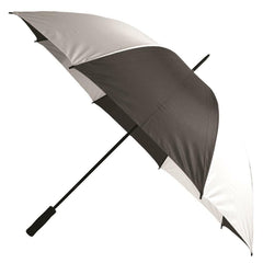 Large Golf Umbrella Black White Stripes Big Parasol Paraguas Grande Sombrilla