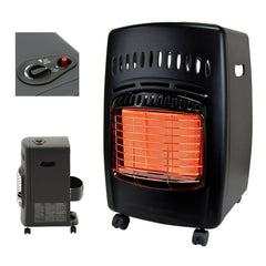 Dyna-Glo Portable Heater 3-Heat Settings Automatic Shut-Off Dial Control Black