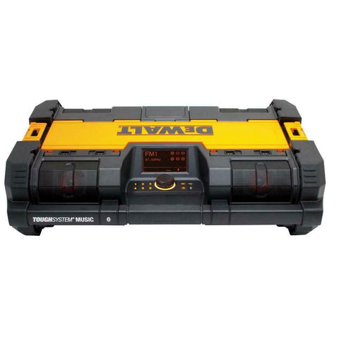 DeWalt DWST08810 ToughSystem Bluetooth Radio and 12V/20V/USB Charger