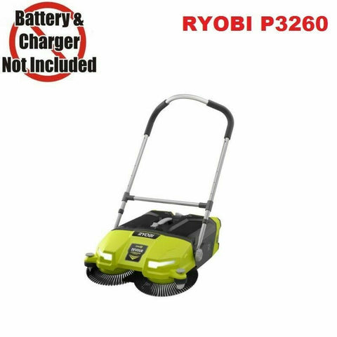 RYOBI 18-Volt ONE+ Debris Sweeper Cordless 4.5 Gal DEVOUR Cleaner Bare Tool Only