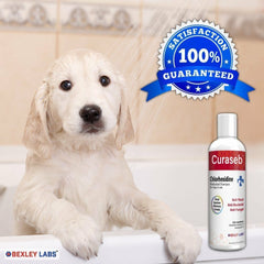 8/16 Oz Curaseb Antifungal Pet Shampoo Treatment For Dogs Cats Health Skin Care