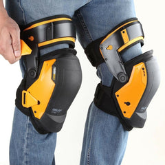 Professional Gel Knee Pads Construction Pair Work Safety Comfort Leg Protector