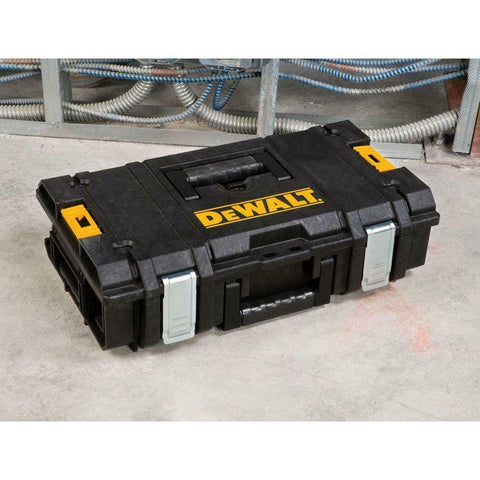DEWALT Small Parts Organizer ToughSystem 8-Compartment Storage Durable Portable