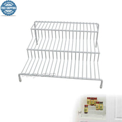 3-Tier Can and Spices Rack Organizer for Kitchen Pantry Cabinet Counter Top NEW