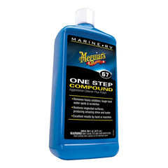 Meguiars M6732 OneStep Compound 32 Oz Oxidation Removal Cleaner Polish NEW