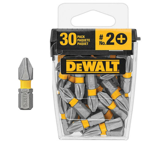 Dewalt Phillips Screwdriver Bit Tips 1 in. Magnetic Drill Tool 30-Piece MAXLIFT