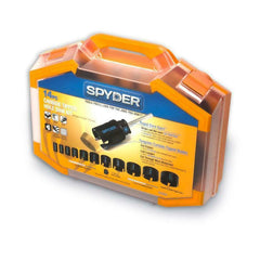 Spyder 14-Piece Carbide-tipped Arbored Hole Saw Set 600880 Effortless Plug Eject