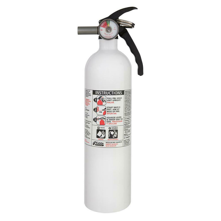 Kidde 10 B:C Dry Chemical Marine/Auto Fire Extinguisher Car Vehicle Truck Safety