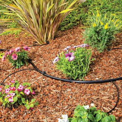 Poly Tubing Drip Emitters Irrigation Sprinkler Tube Hose Lawn 1/4 in. x 100 ft.