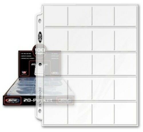 "Coin Collecting Protector Supplies Plastic Sheets Sleeves Album Binder 2""x2"" NEW"