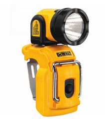 12-Volt LED Work Light Flashlight Cordless Worklight Clip-On Pivot Rotate Stand