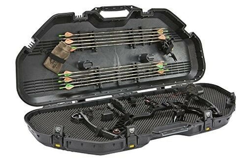Plano 108110 Large AW Bow Case Lockable Hard Archery Storage Guard Arrow Black