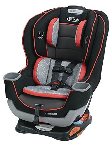 Graco Baby Extend2Fit All-in-1 Convertible Car Seat Infant Booster Clove Harness
