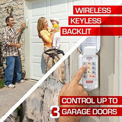 Garage Door Opener Wireless Keyless/Keypad Entry System Parts Remote Home Access