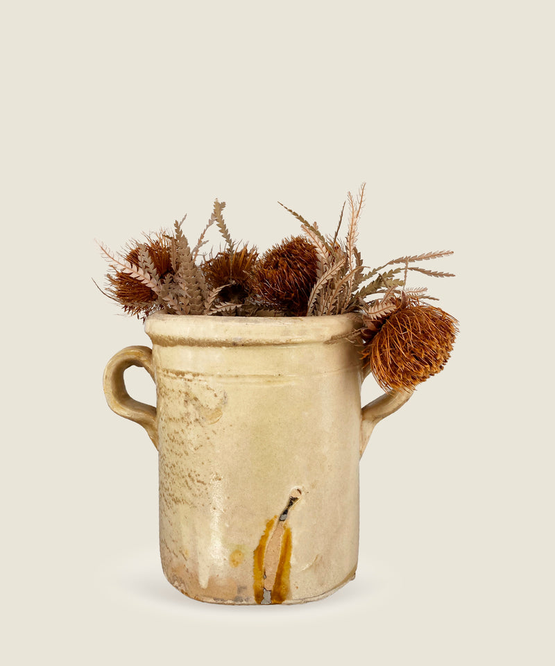 antique beige pot puglia 20