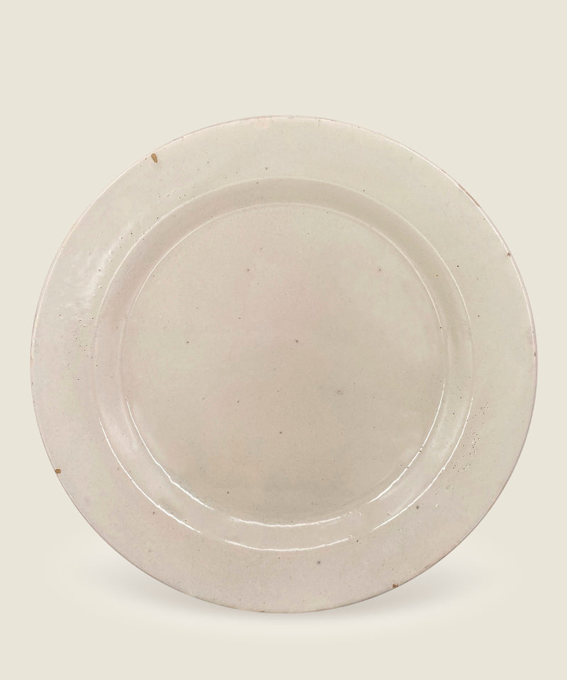 antique cream beige dish puglia 2