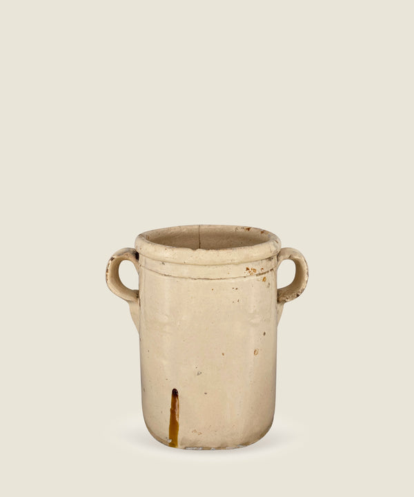 antique cream beige pot puglia 14