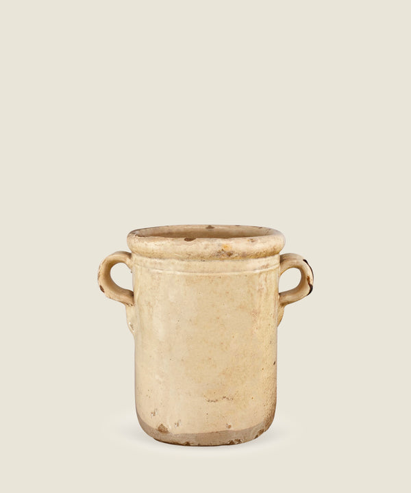 antique cream beige pot puglia 17