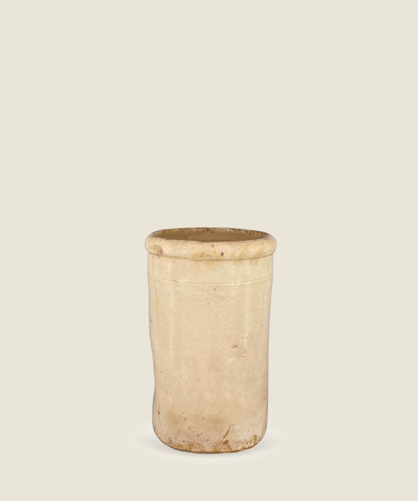 antique cream beige pot puglia 18