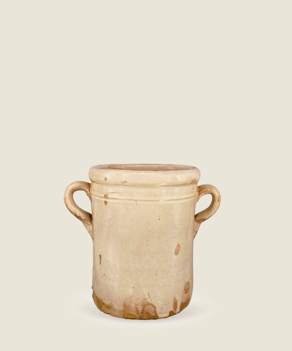 antique cream beige pot puglia 21