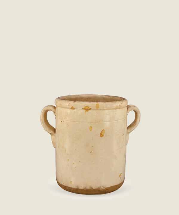 antique cream beige pot puglia 6