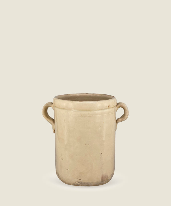 antique cream beige pot puglia 9