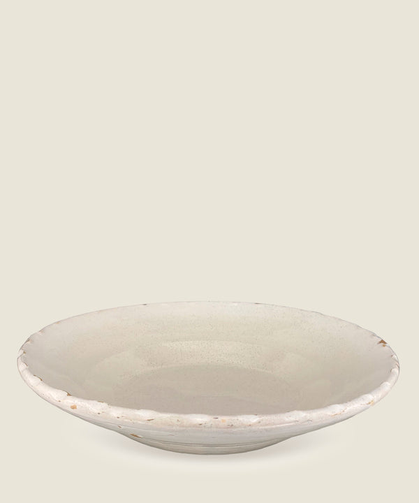 antique cream edge bowl 9