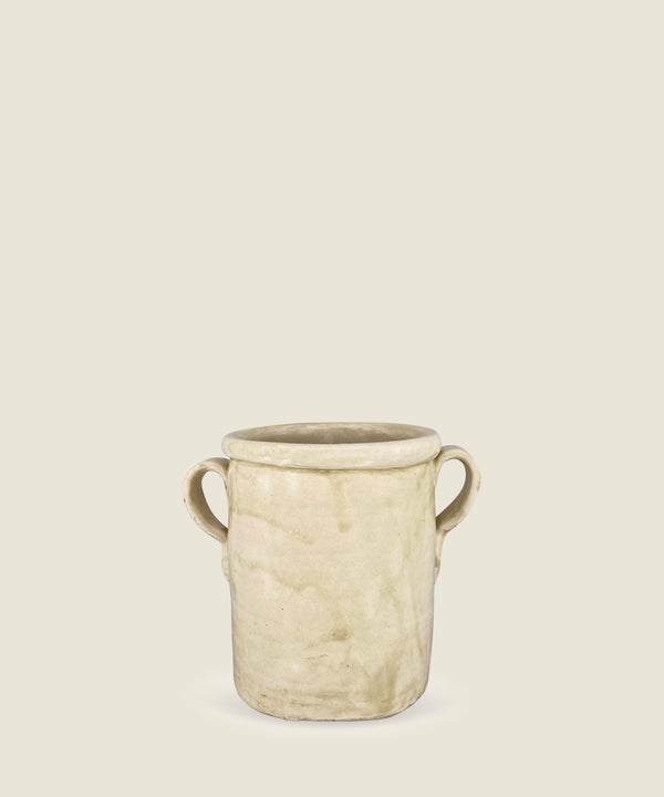 antique cream pot puglia 11