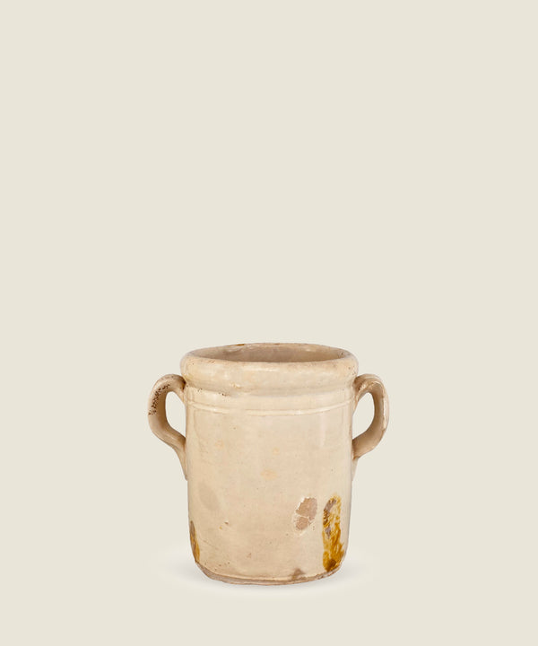 antique cream pot puglia 1