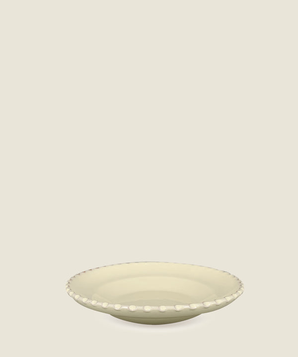 cream edge ceramics bowl medium