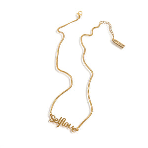 SELFLOVE Necklace Gold