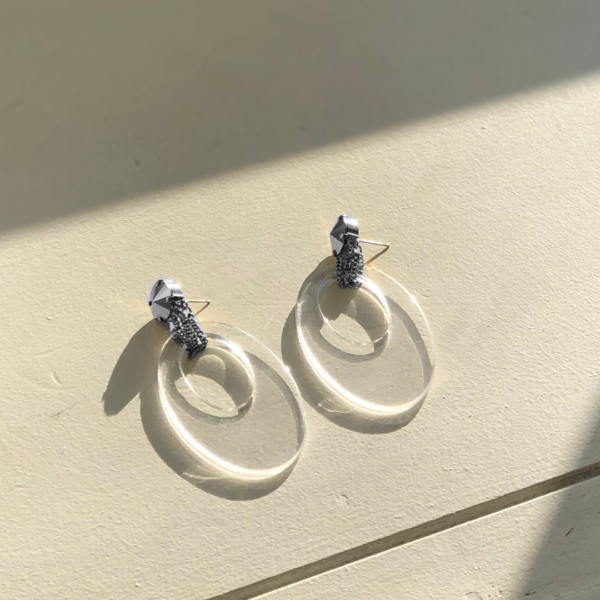 ADRIANA Earrings Silver