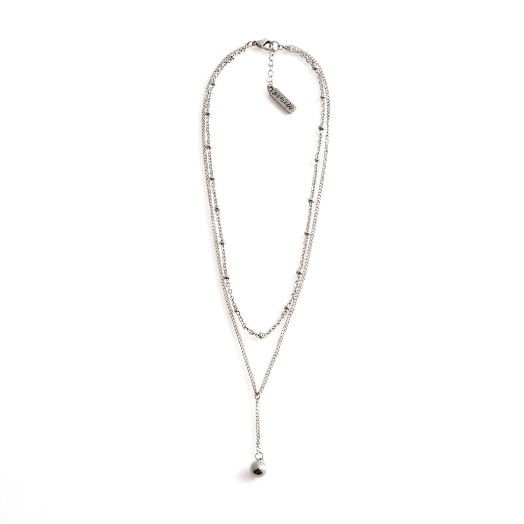 BILLIE Necklace Silver