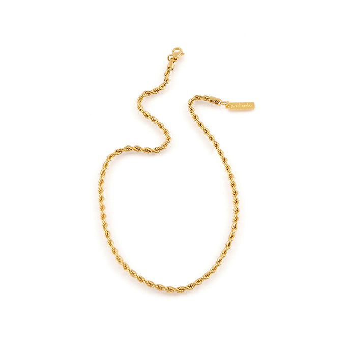 Gold Italian Rope Chain by Estrela