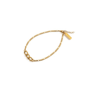 EDGE Chain Anklet Gold
