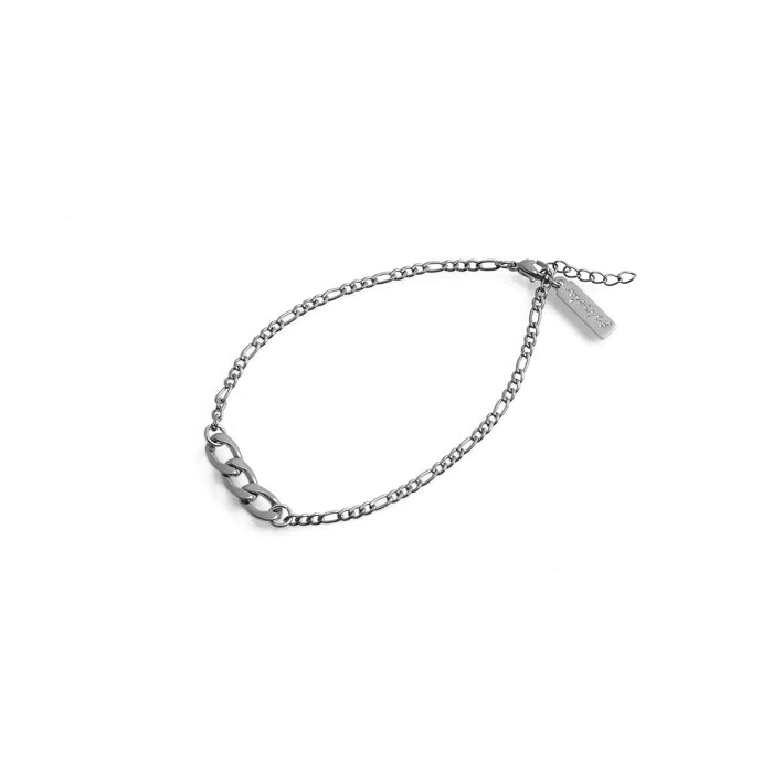 EDGE Chain Anklet Silver